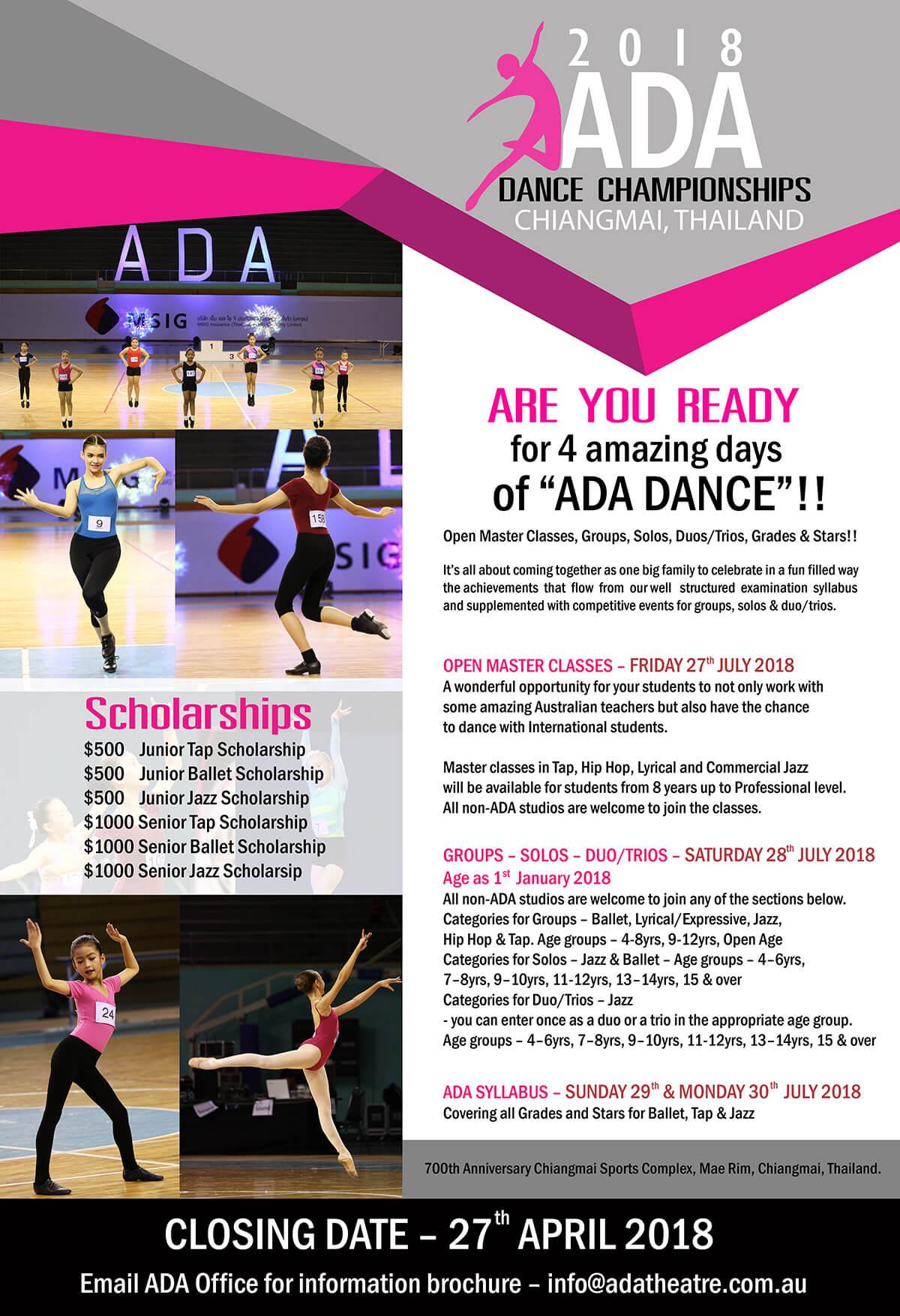 ADA Dance Championships - Thailand